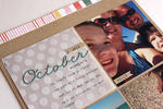 October Moments at the Beach Layout - detail