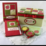 Teacher's Apple Gift Box Ensemble
