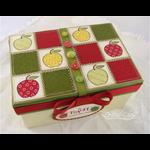 Teacher's Apple Gift Box Top Detail