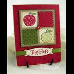 Teacher's Apple Gift Card