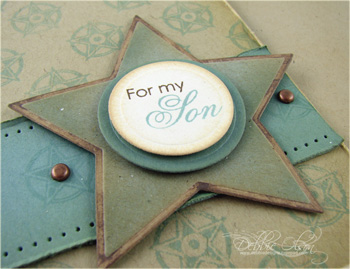 Background Basics and Men of Life: Son Card Detail