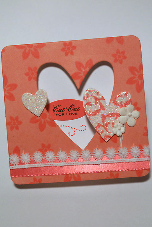 Cut Out For Love card