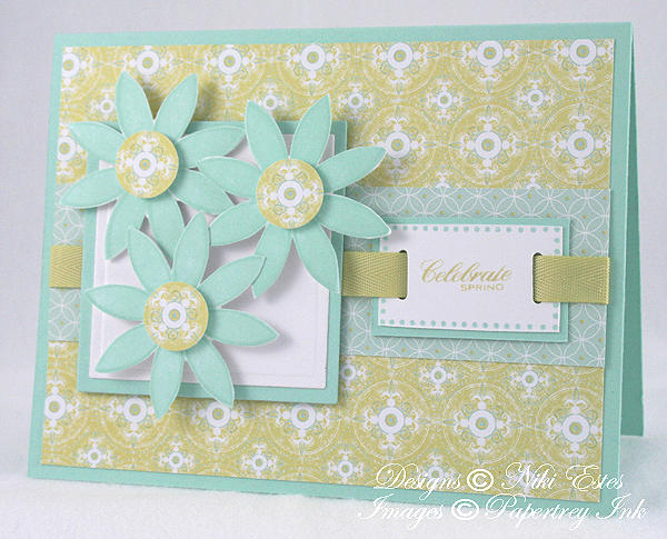 WINNER - Best Use of Patterned Paper
