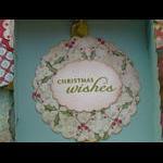 3x3 Holiday card box inside