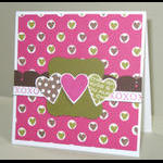 Heart Prints and Heart Prints Sentiments