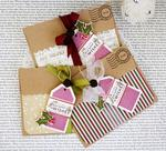 Melissa Phillips - Minute to Make:  Holiday Tags 1 + 2