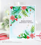 Kay Miller - Cover Plate:Winter Floral