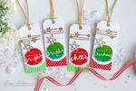 Kay Miller - Wet Paint Holiday Tags