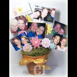 Picture Pot with Pictures by Charmaine Ikach