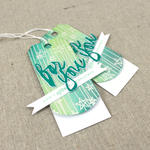 Lizzie Jones - Wet Paint Holiday Tags