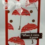 When it Rains, it Pours card