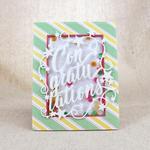 Lizzie Jones - Paper Clippings: Congratulations