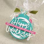 Lizzie Jones - Shaped Sayings Birthday Die