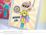 Ashley Cannon Newell - Dress Up Dolls: Superhero