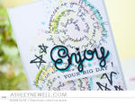 Ashley Cannon Newell - Script Swirls: Birthday