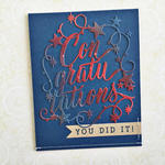 Heather Nichols - Paper Clippings: Congratulations