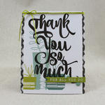 Lizzie Jones - Paper Clippings: Thank You