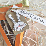 Happy Easter Carrot Treat Box - detail