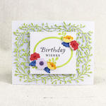 Floral Birthday Wishes Card 2