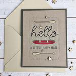 Hello Happy Mail Card