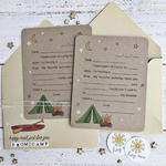 Mail From Camp Card & Envelope