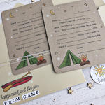 Mail From Camp Card & Envelope - detail