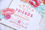 Quoted-True Friends detail