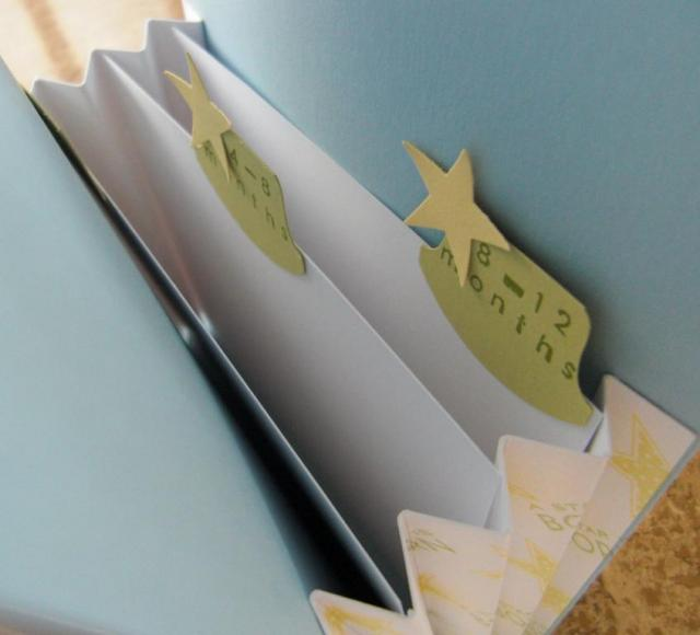 baby card file insert tabs