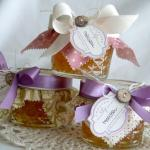 Orange Marmalade Jars