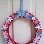 Patriotic Wreath - Front Door