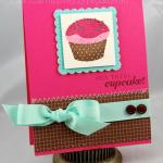Hey There, Cupcake card