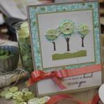 Trio of Trees Card