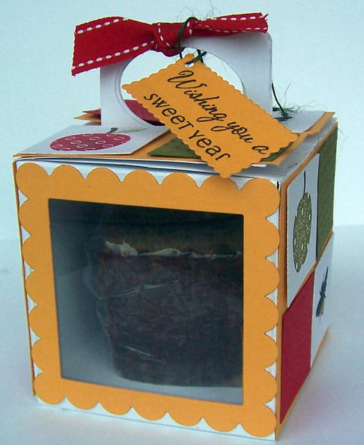 Honey Cake Inside The Box