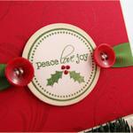 Peace, Love, Joy detail