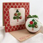 Merry Christmas Button Tree Ensemble