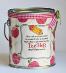 Altered Paint Can - Cindy Holshouser