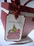 holiday scarlet picnic tag