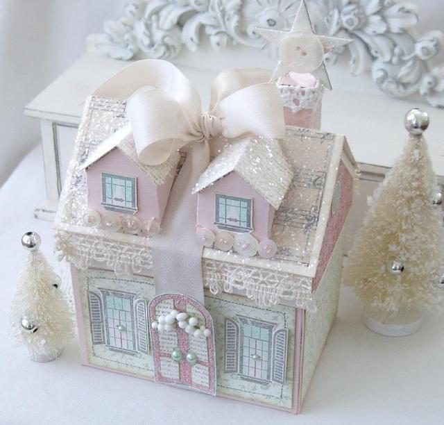 Shabby Christmas Cottage