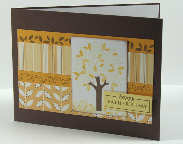 Fathers Day Card Tree