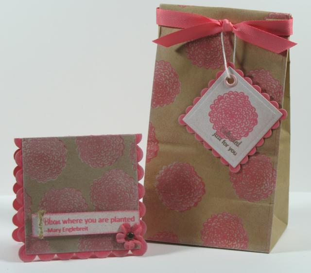 Garden Gift Bag and Card
