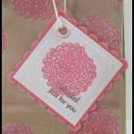Garden Gift Bag Tag